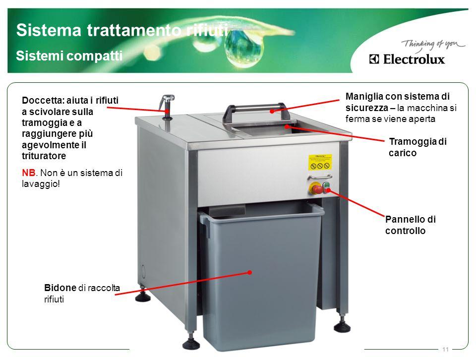 Sistema trattamento rifiuti