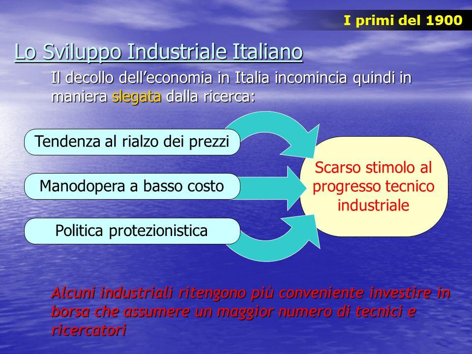 Lo Sviluppo Industriale Italiano