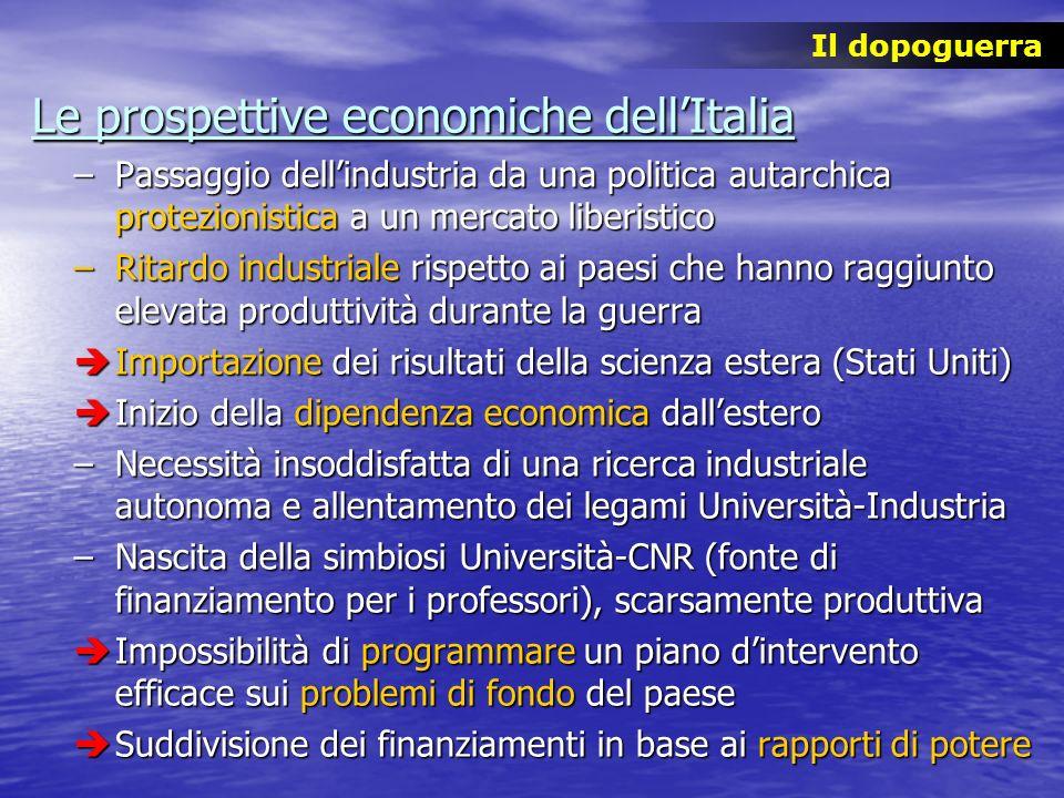 Le prospettive economiche dell'Italia