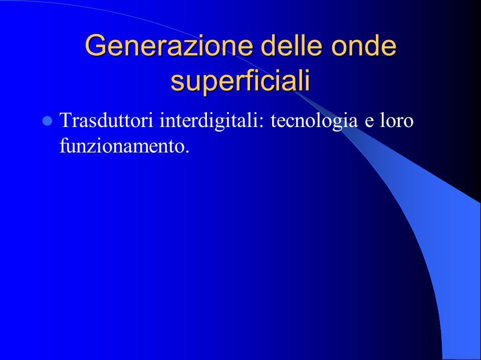 Generazione delle onde superficiali