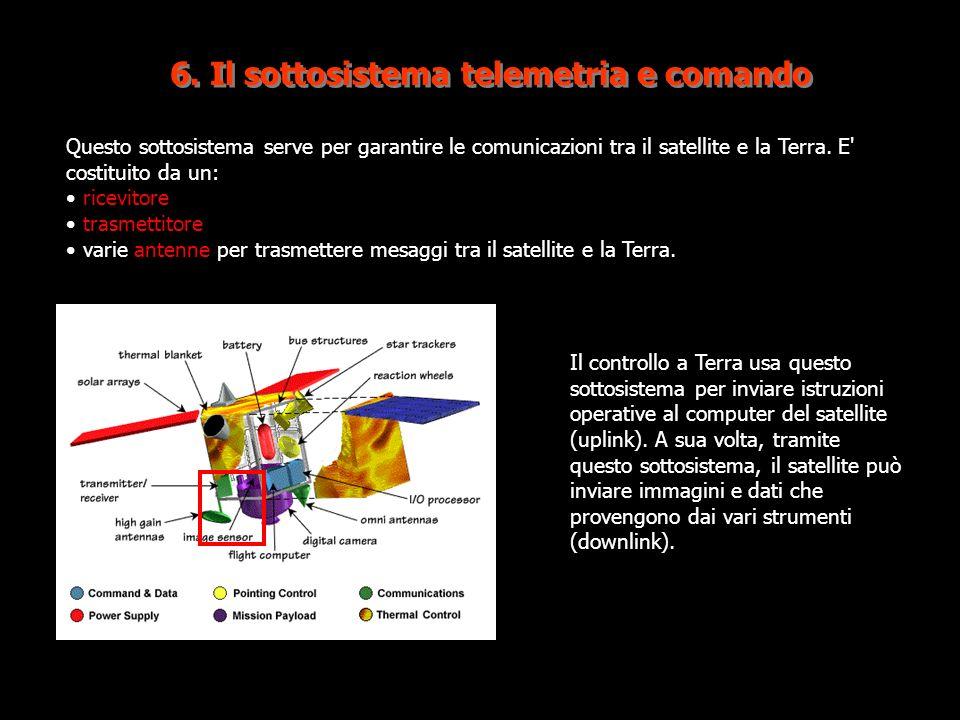 6. Il sottosistema telemetria e comando
