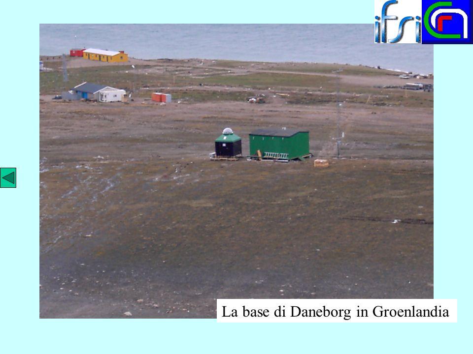La base di Daneborg in Groenlandia
