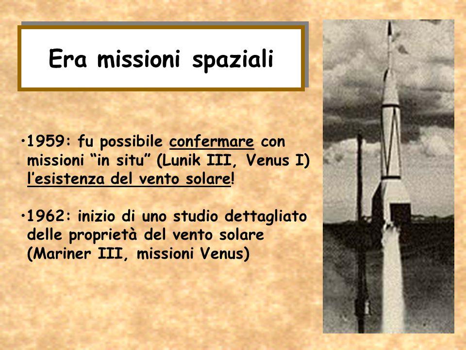 Era missioni spaziali 1959: fu possibile confermare con