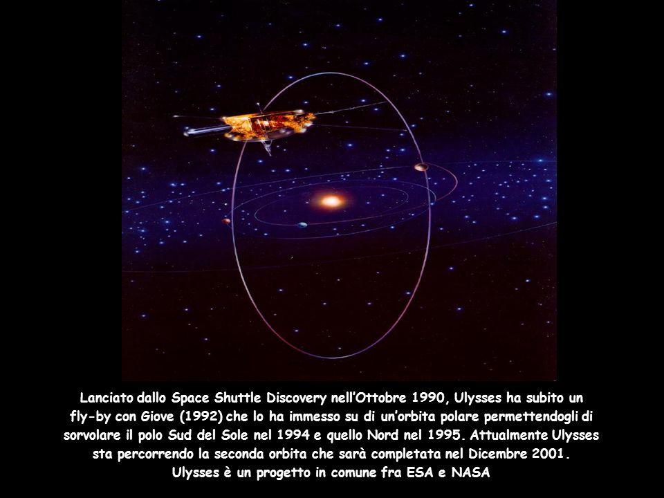 Ulysses è un progetto in comune fra ESA e NASA