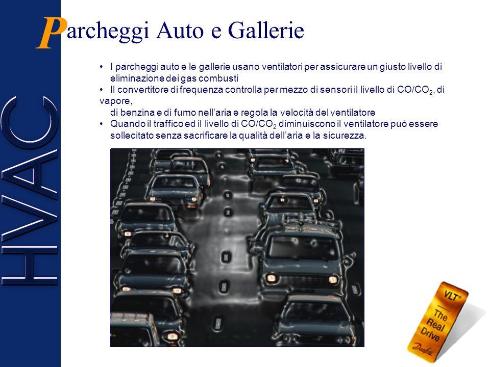 P archeggi Auto e Gallerie