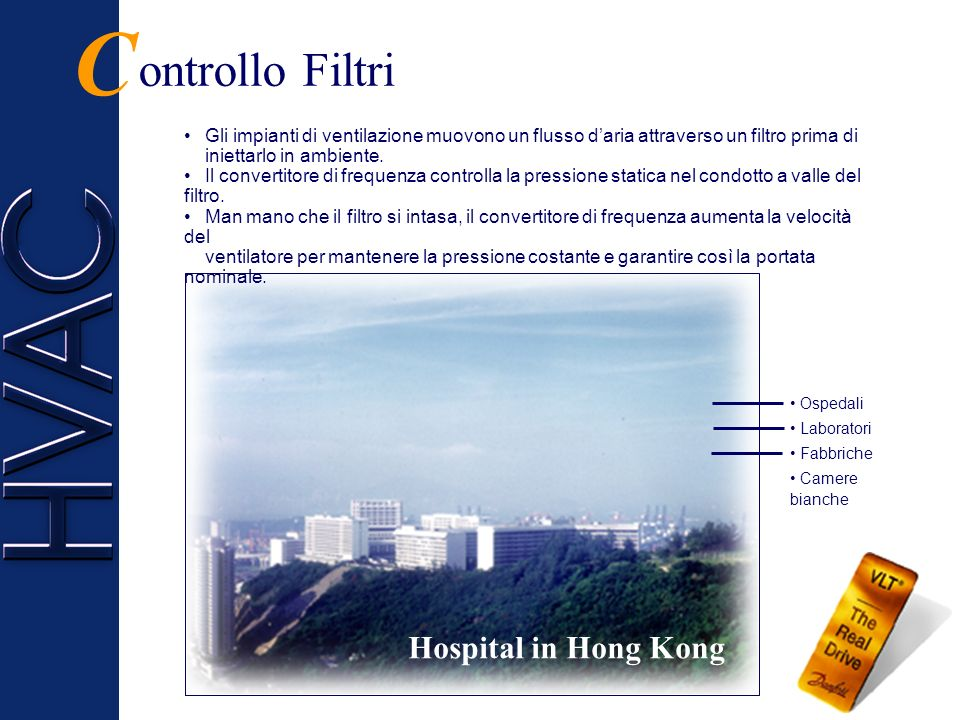 C ontrollo Filtri Hospital in Hong Kong
