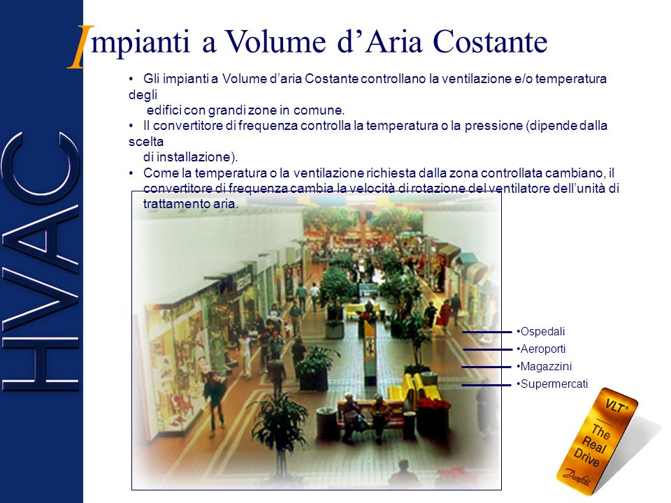 I mpianti a Volume d'Aria Costante