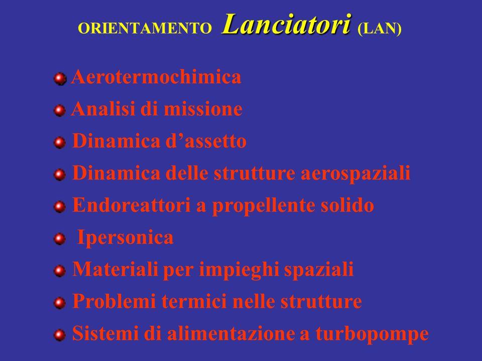 ORIENTAMENTO Lanciatori (LAN)