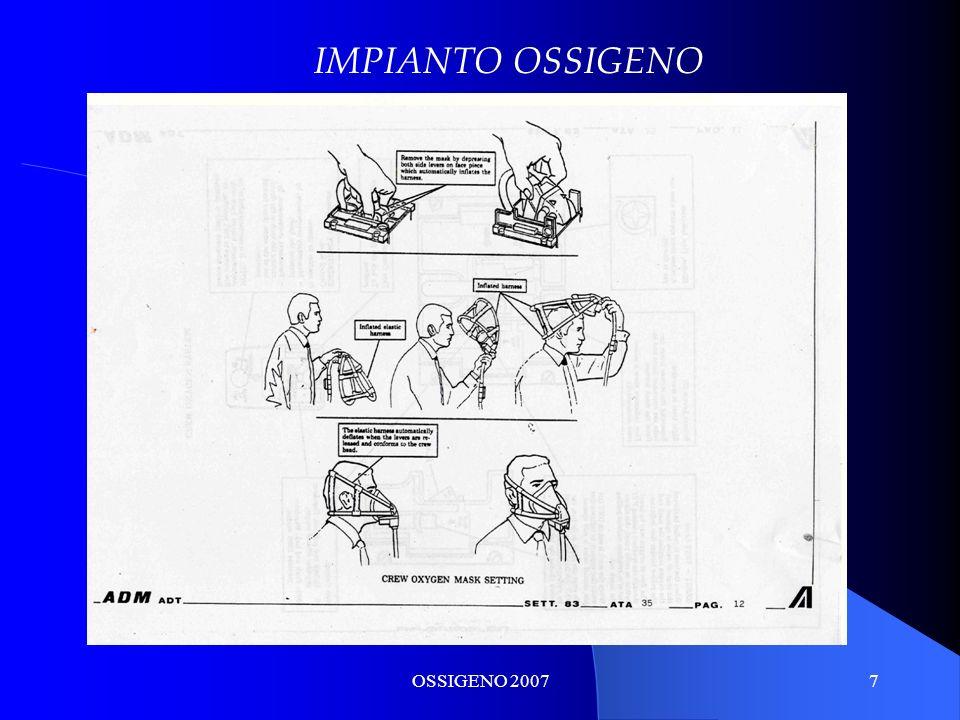 IMPIANTO OSSIGENO OSSIGENO 2007