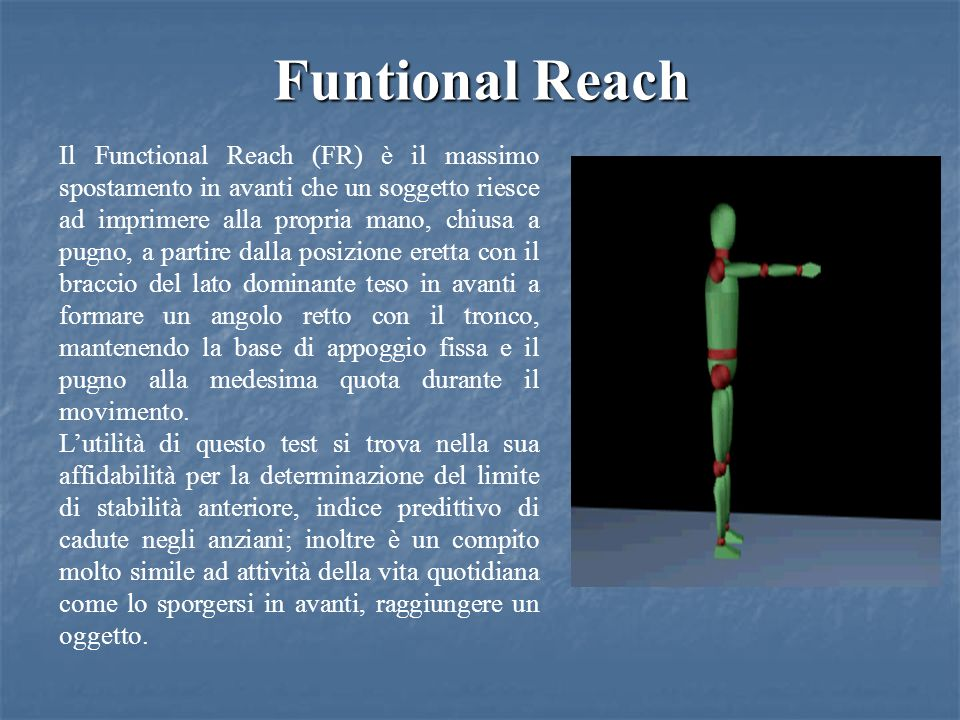 Funtional Reach