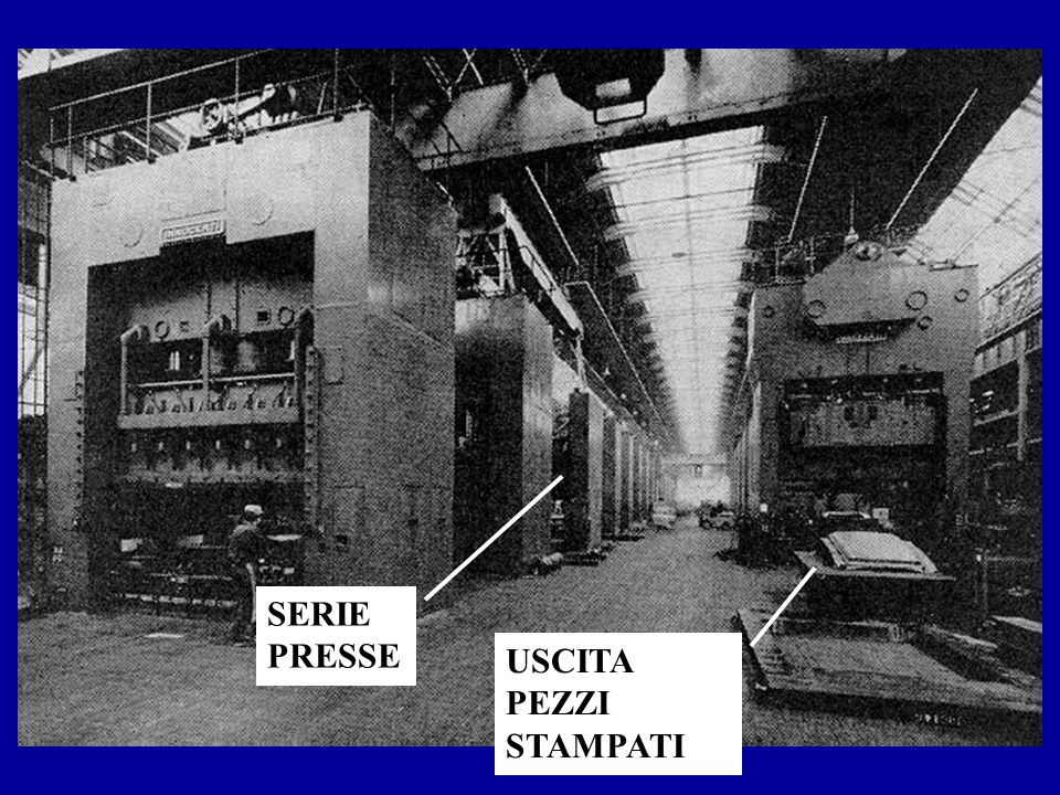 Par.1.4.3-slide 11c SERIE PRESSE USCITA PEZZI STAMPATI