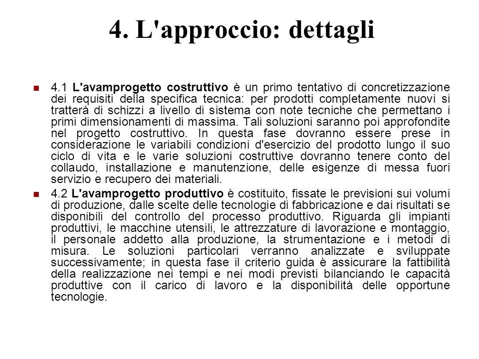 4. L approccio: dettagli