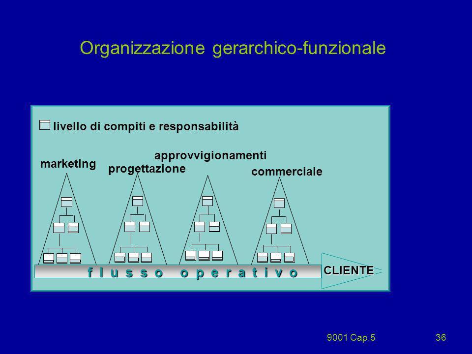 Organizzazione gerarchico-funzionale