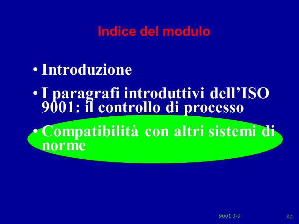 I paragrafi introduttivi dell'ISO 9001: il controllo di processo