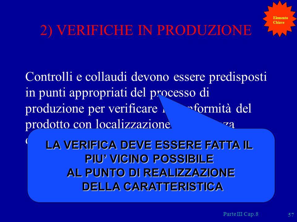 2) VERIFICHE IN PRODUZIONE