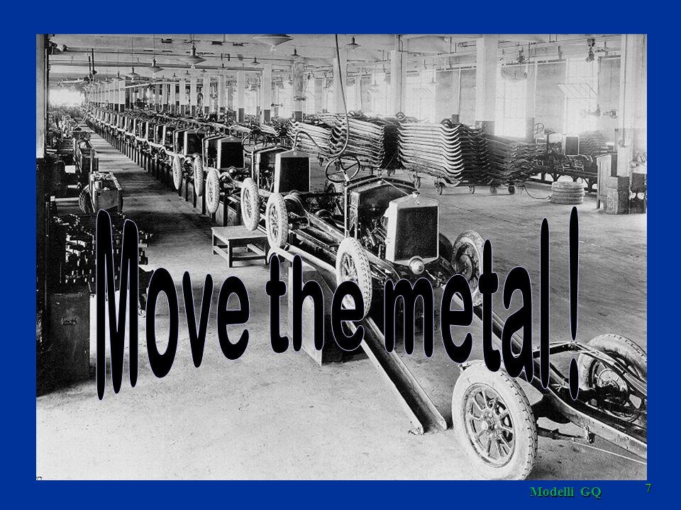 Facoltà di Ingegneria Move the metal ! Par.1.2.4-slide 9 a Modelli GQ