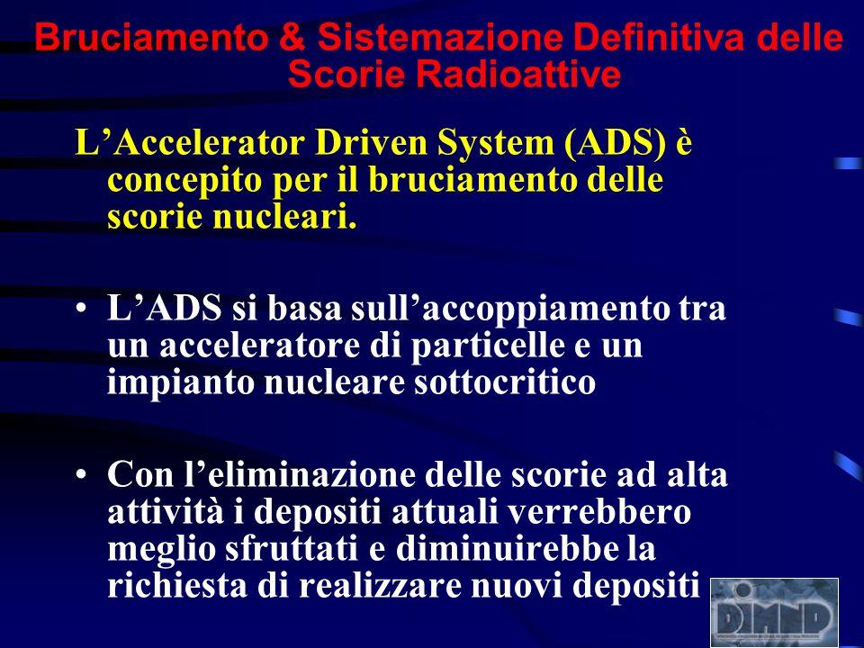 Bruciamento & Sistemazione Definitiva delle Scorie Radioattive