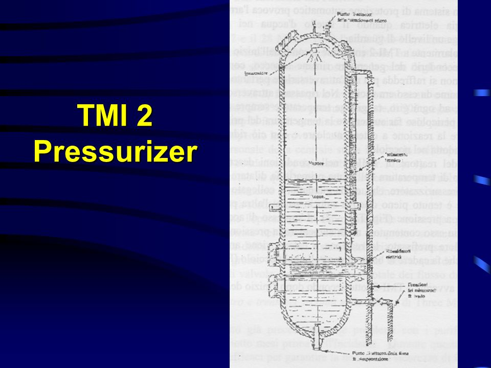 TMI 2 Pressurizer