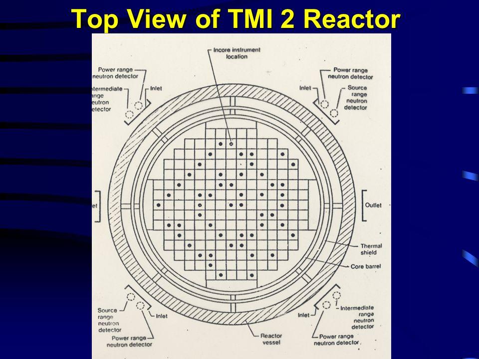 Top View of TMI 2 Reactor