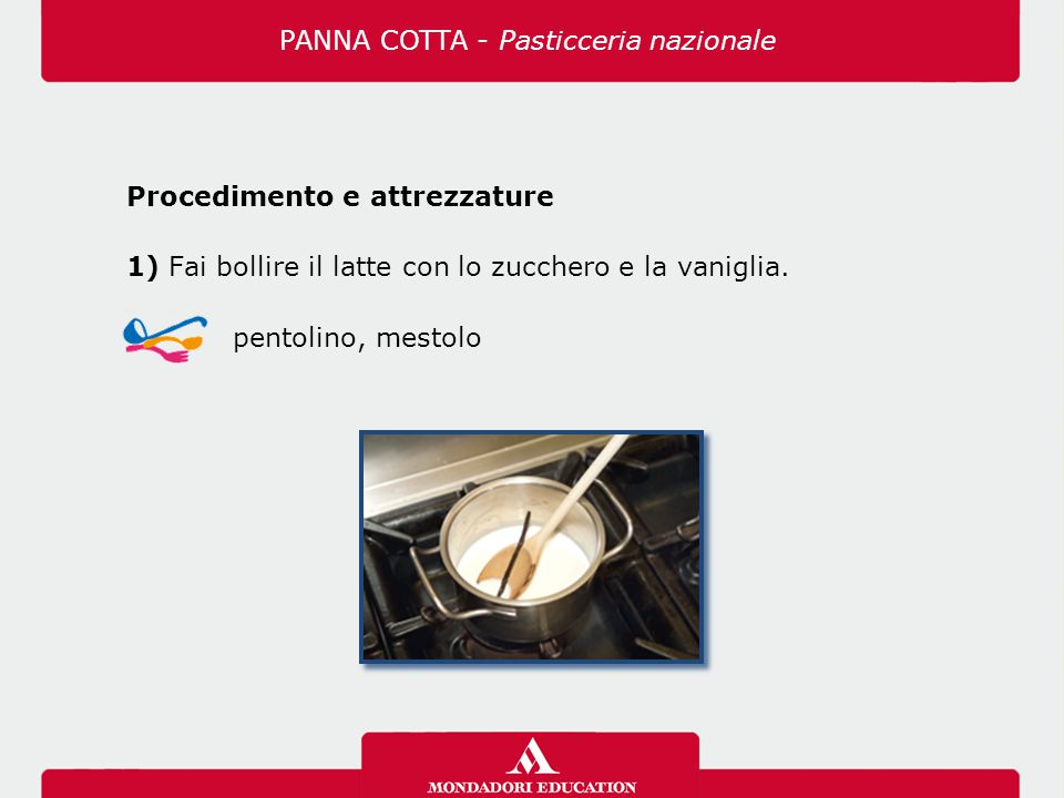 PANNA COTTA - Pasticceria nazionale