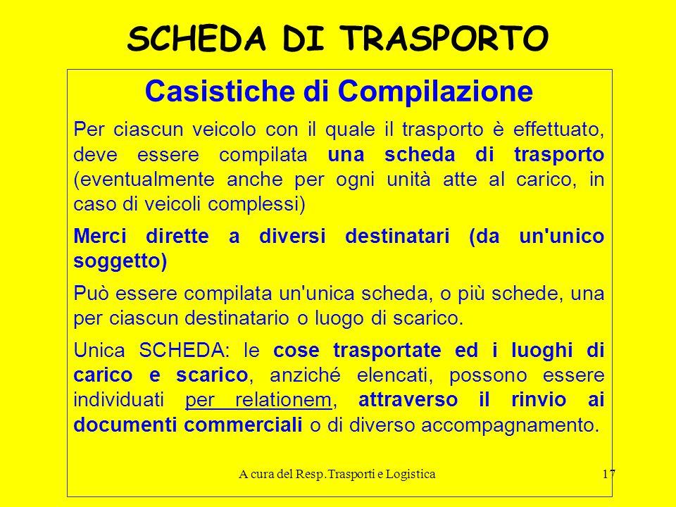 Casistiche di Compilazione