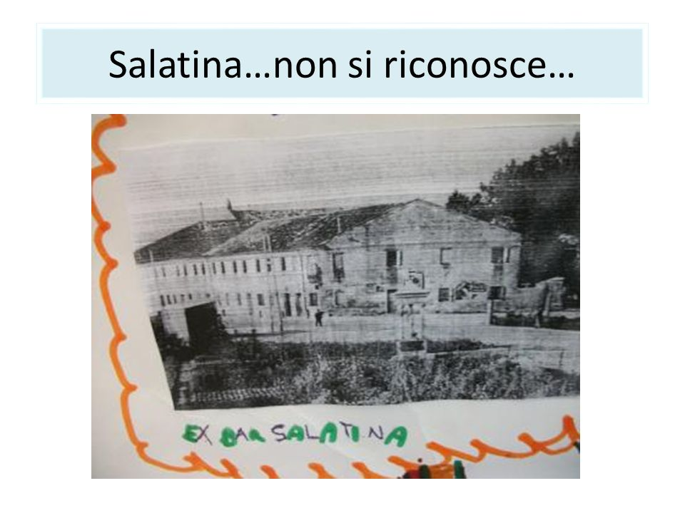 Salatina…non si riconosce…