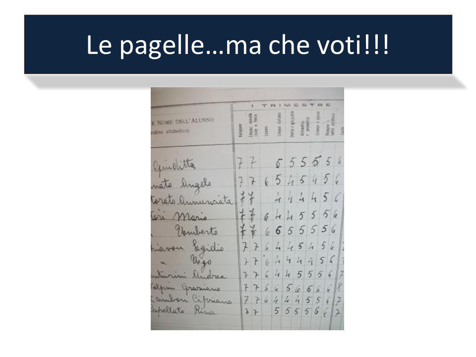 Le pagelle…ma che voti!!!