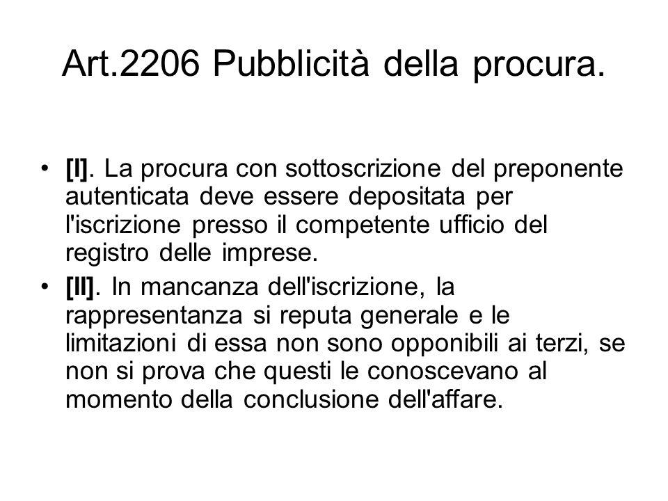 Articolo 2203 preposizione institoria ppt scaricare for L espropriazione mobiliare presso terzi
