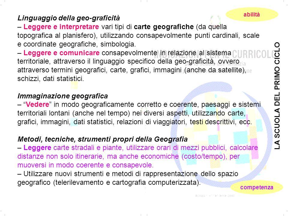 Linguaggio della geo-graficità