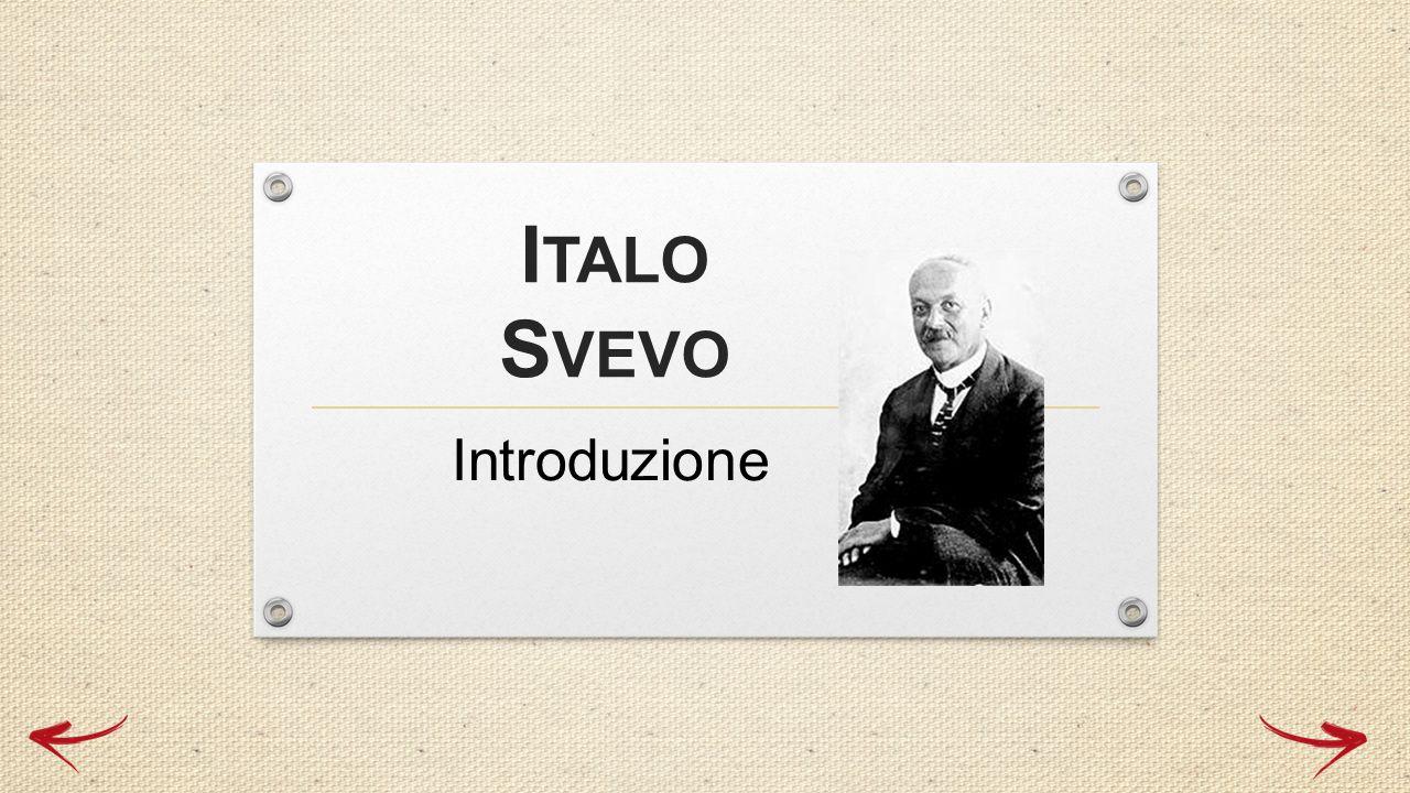 Italo Svevo Introduzione