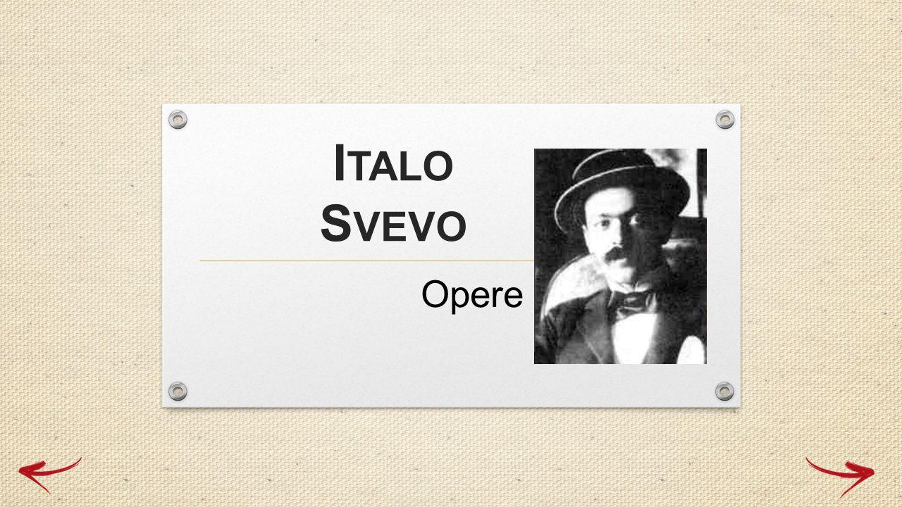 Italo Svevo Opere