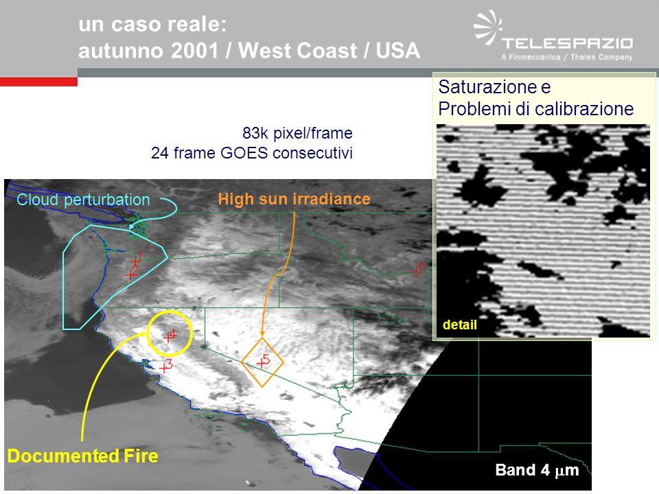 un caso reale: autunno 2001 / West Coast / USA