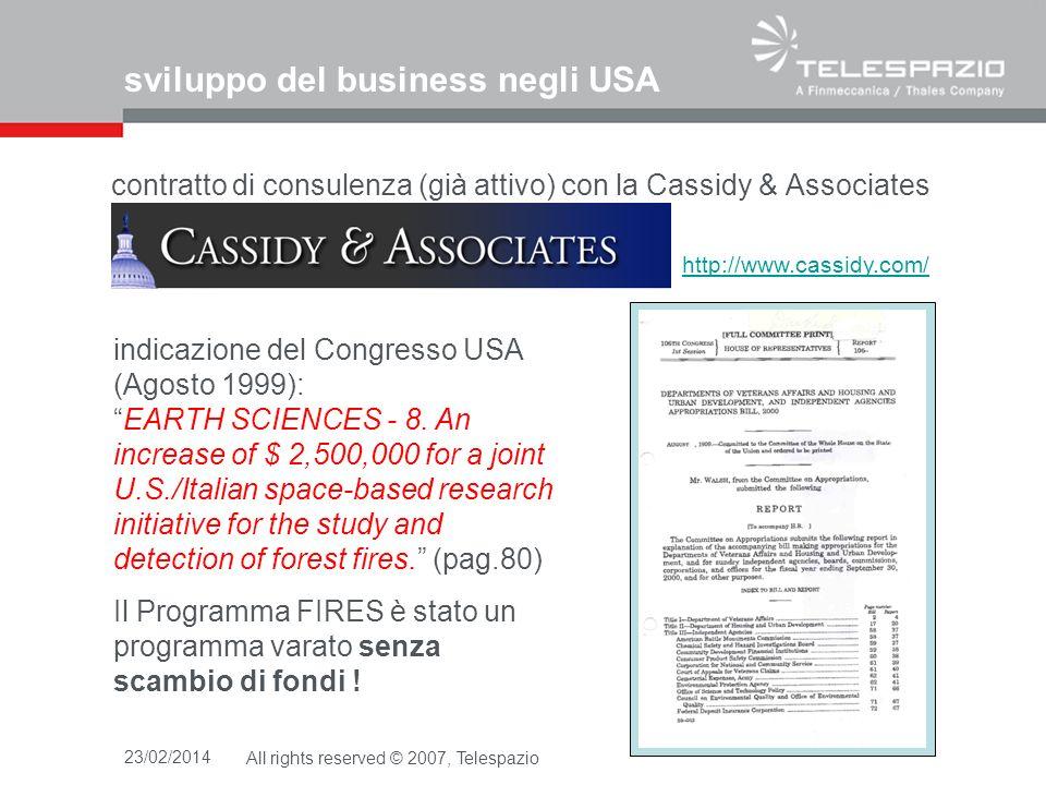 sviluppo del business negli USA