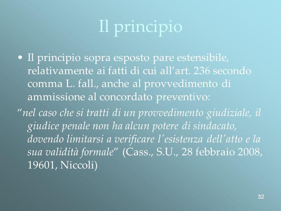 Il principio