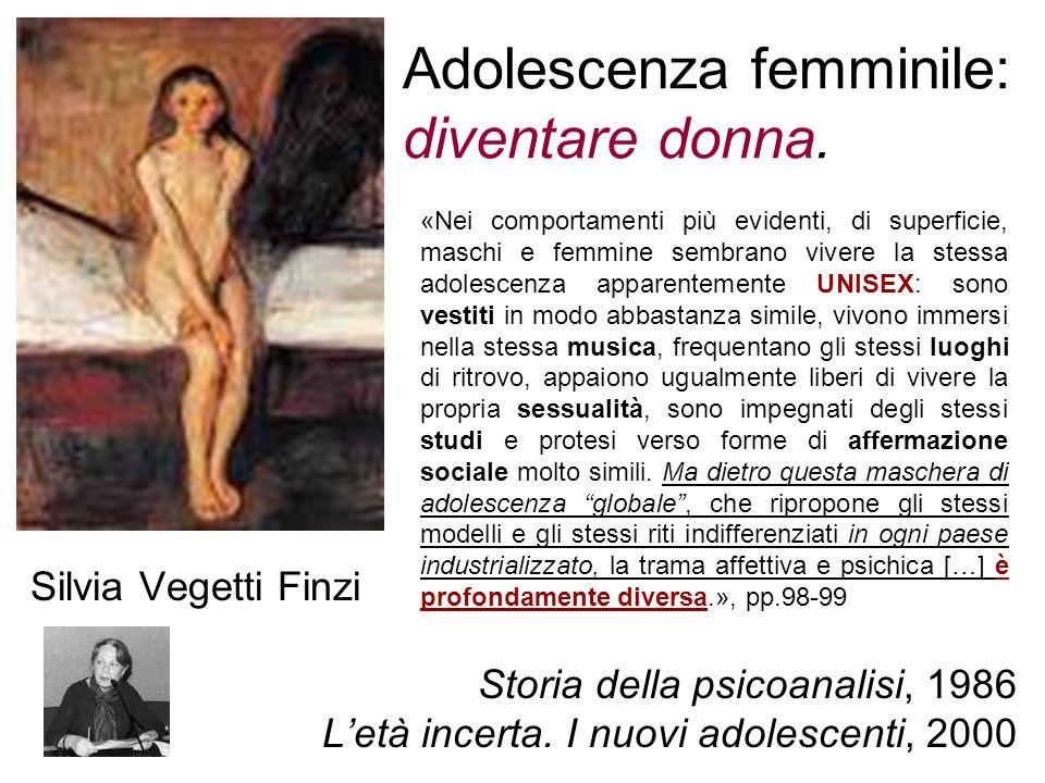 Adolescenza femminile: diventare donna.
