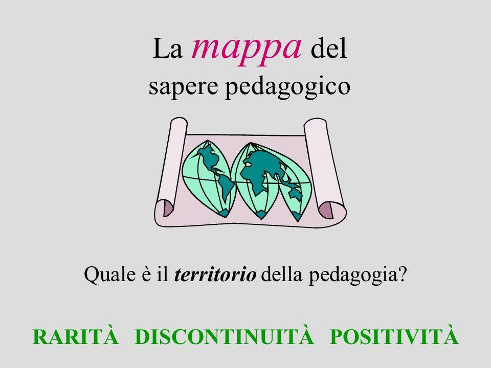 La mappa del sapere pedagogico