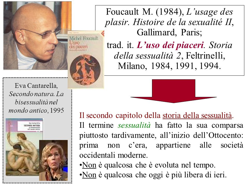 Eva Cantarella, Secondo natura. La bisessualità nel mondo antico, 1995