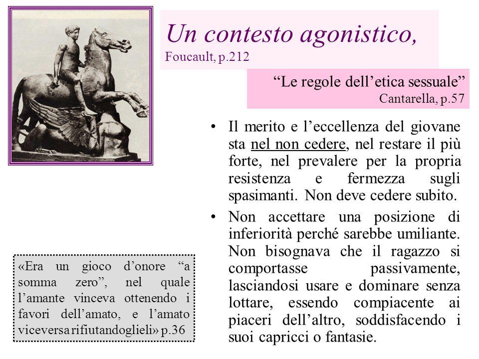 Un contesto agonistico, Foucault, p.212