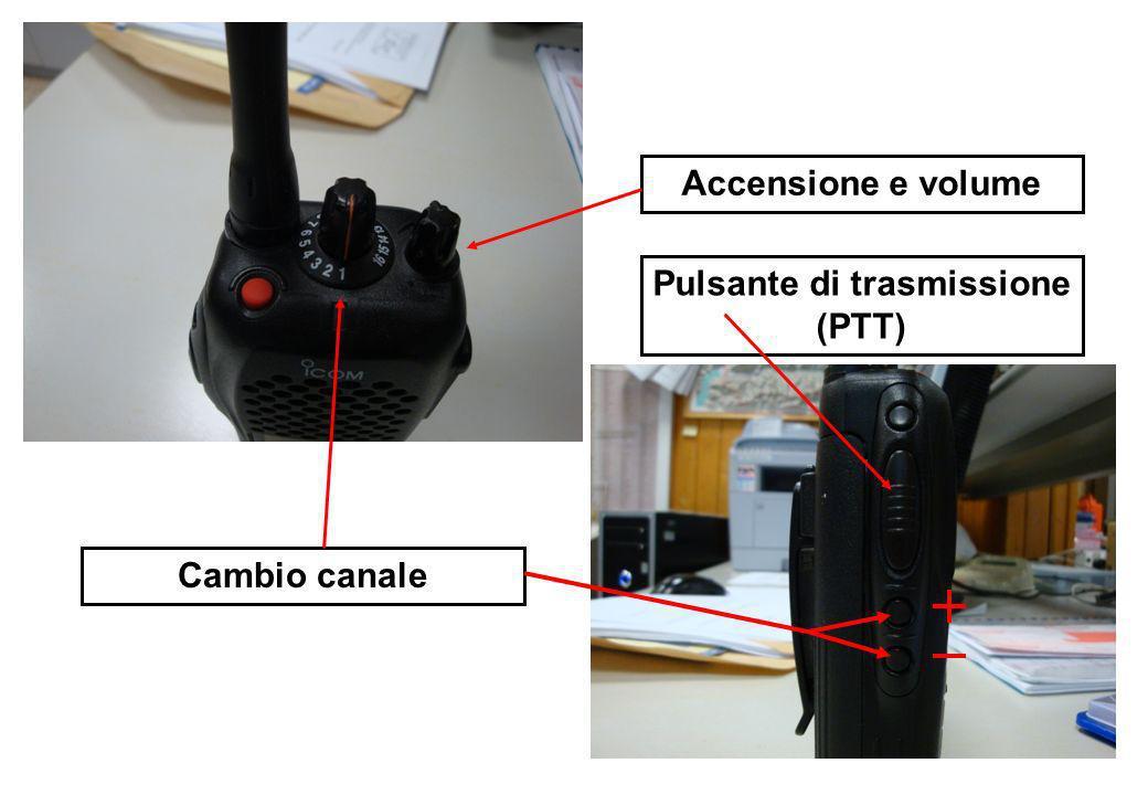 Pulsante di trasmissione (PTT)
