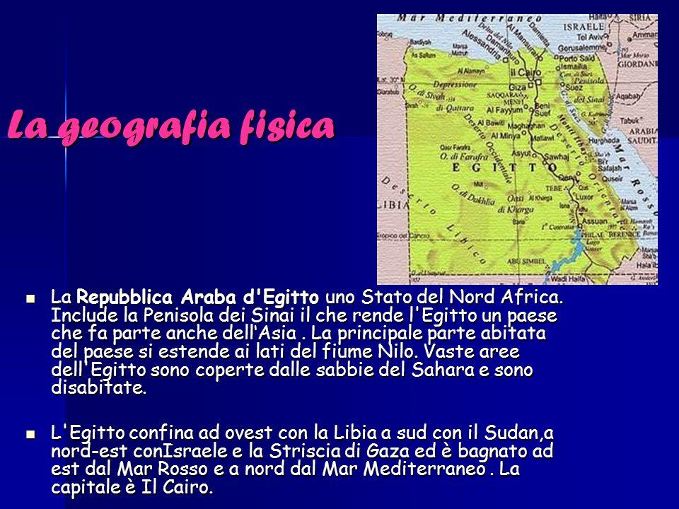 La geografia fisica