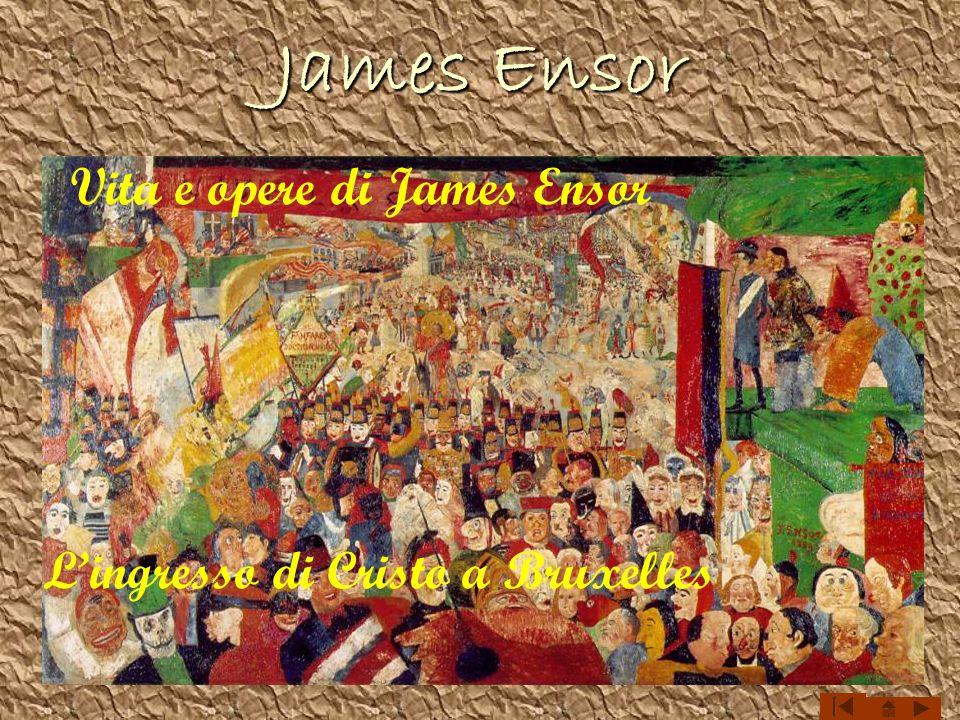Vita e opere di James Ensor