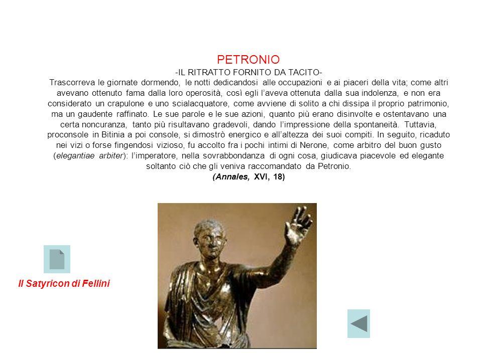 -IL RITRATTO FORNITO DA TACITO-