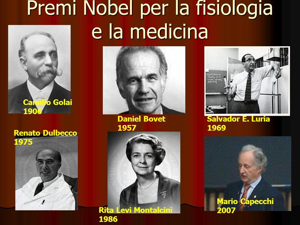 Premi Nobel per la fisiologia e la medicina