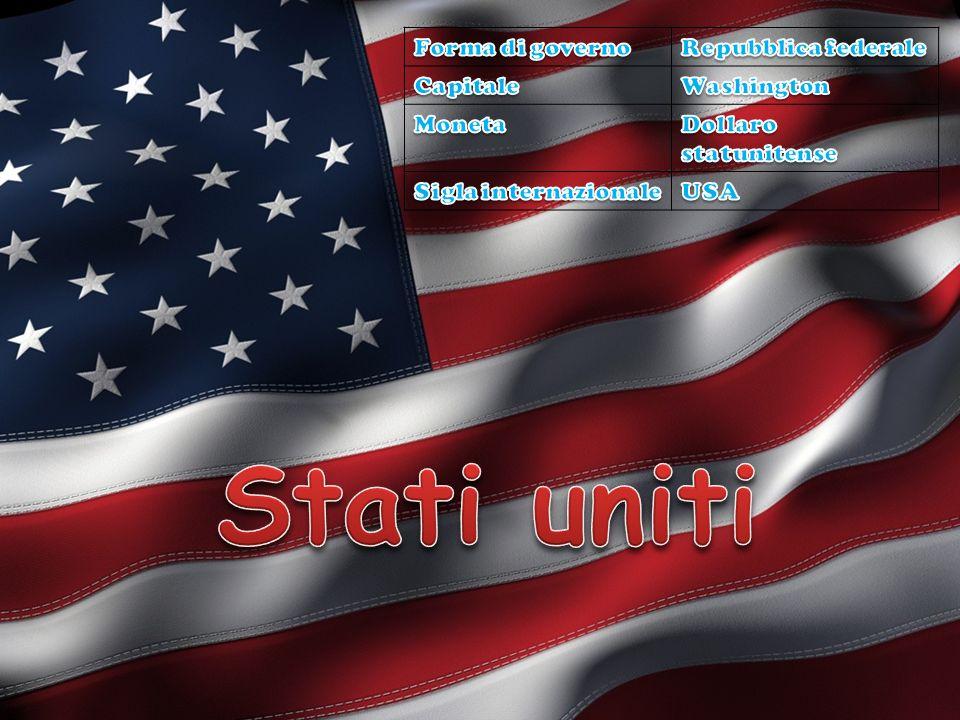 Stati uniti Forma di governo Repubblica federale Capitale Washington