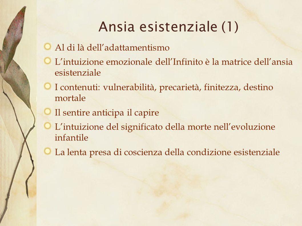 Ansia esistenziale (1)