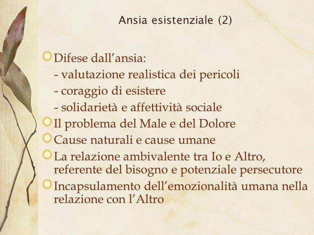 Ansia esistenziale (2)