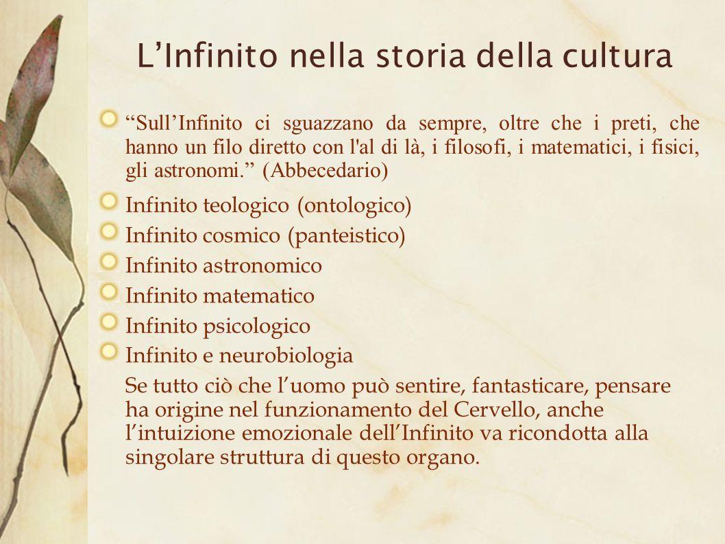 L'Infinito nella storia della cultura