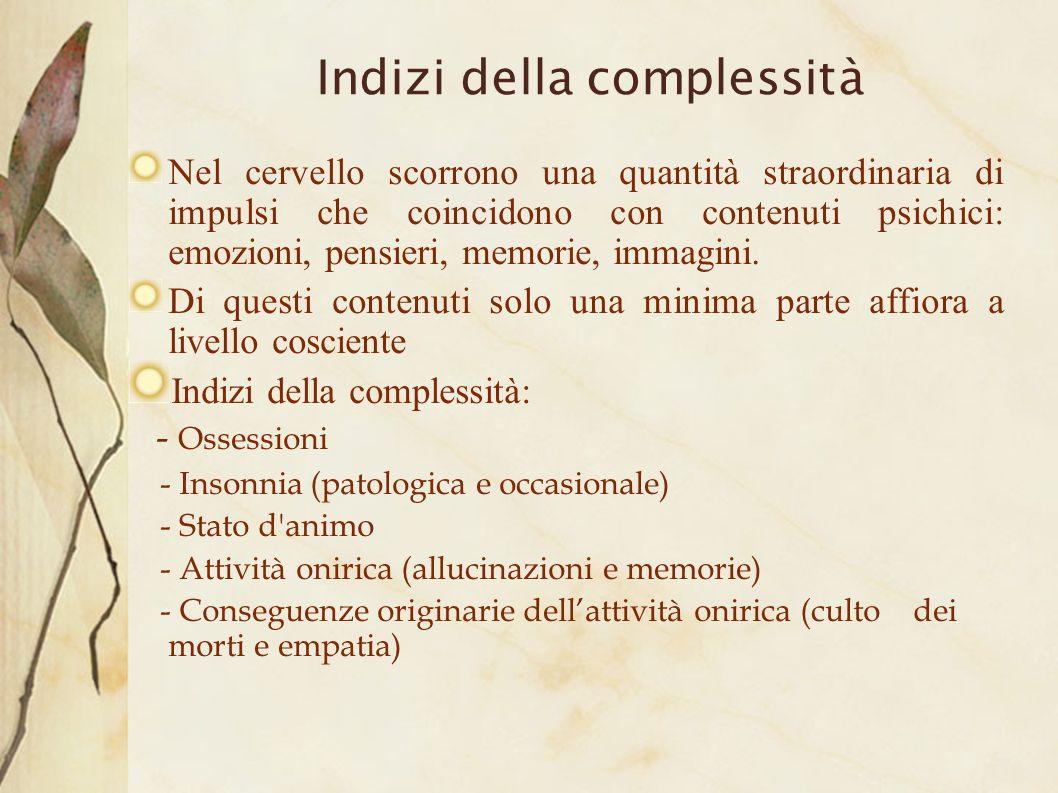 Indizi della complessità