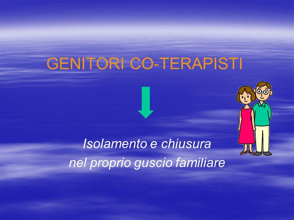 GENITORI CO-TERAPISTI