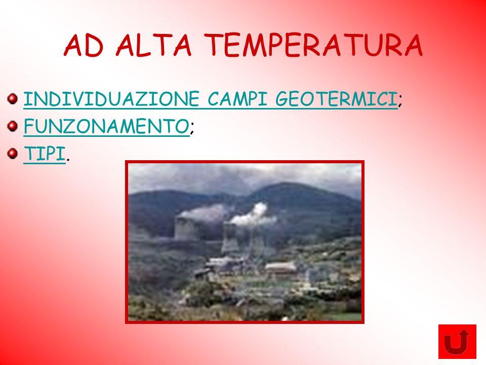 AD ALTA TEMPERATURA INDIVIDUAZIONE CAMPI GEOTERMICI; FUNZONAMENTO;